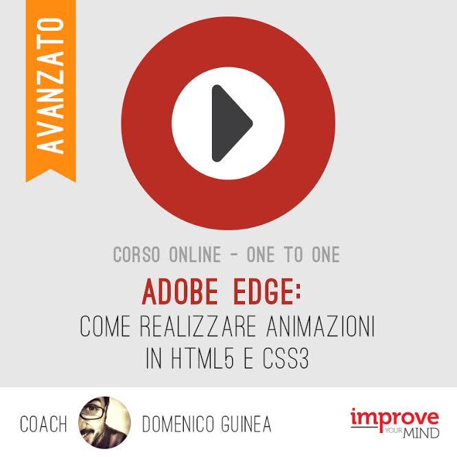 Realizza Animazioni con Adobe Edge – livello avanzato