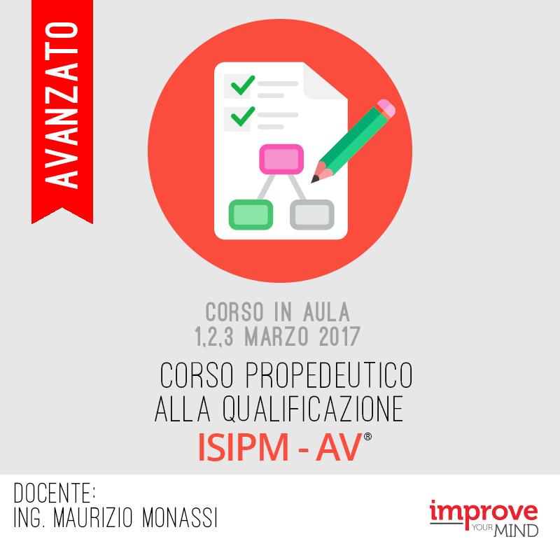 Corso propedeutico alla qualificazione ISIPM-Av®