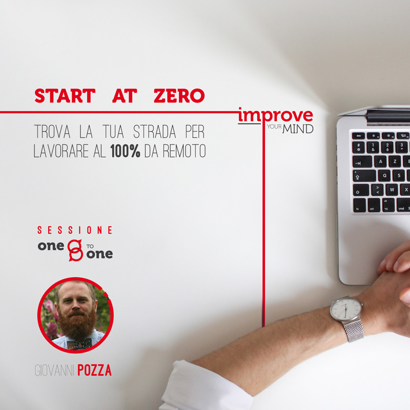 Start at Zero – Trova la tua strada per lavorare da remoto (One-to-one)