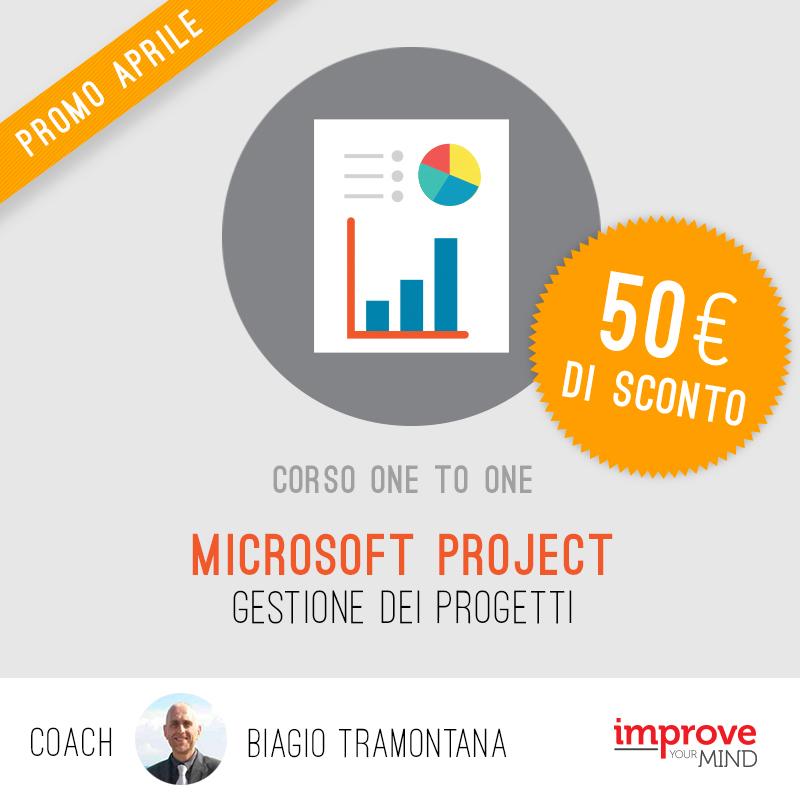 Gestione dei progetti con Microsoft Project
